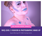 VTCT NVQ Level 3 Fashion & Photographic Make-Up Course