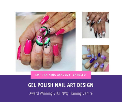 Gel Polish Nail Art Design Course