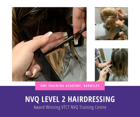VTCT Level 2 NVQ Diploma In Hairdressing Course