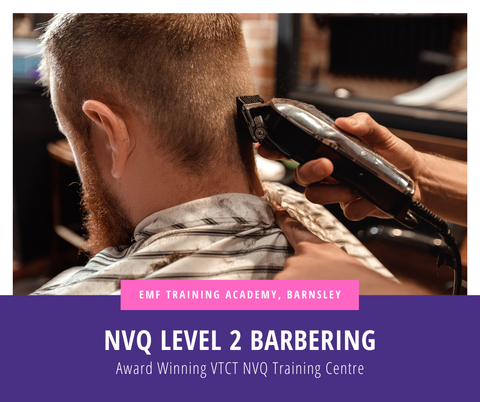 VTCT NVQ Level 2 Barbering Course