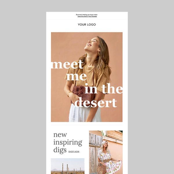 Desert Vibes Email Template