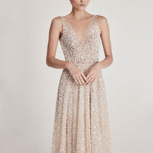 Load image into Gallery viewer, Fashion Sexy Sequined Princess Evening Dress