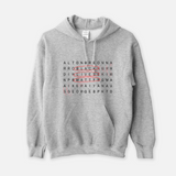 Black Lives Matter Crossword Hoodie (UNISEX)