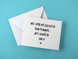 Love You More than Planners - Greeting Card