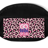 GO Wild Pretty Pink Leopard Fanny Pack