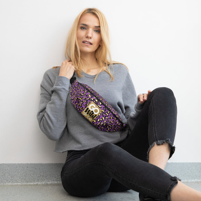 Go Wild Purple Passion Fanny Pack