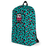 GO Wild 'Can't Tame Me Turquoise' Backpack