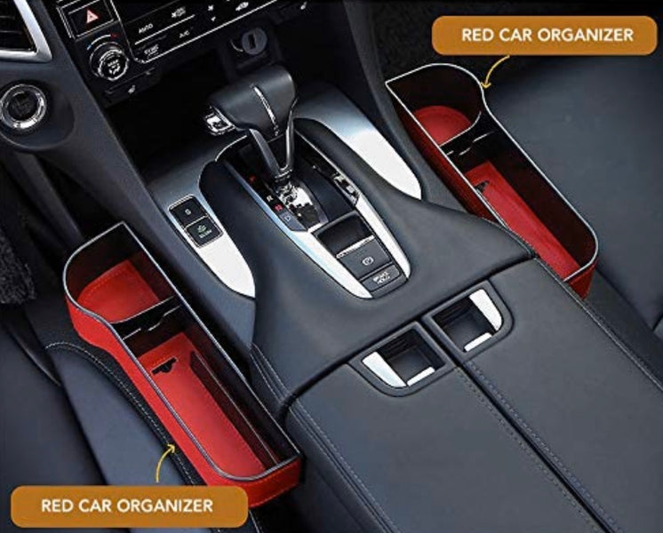 Why you must have a Leather Car Seat Gap Organizer with Cup Holder
