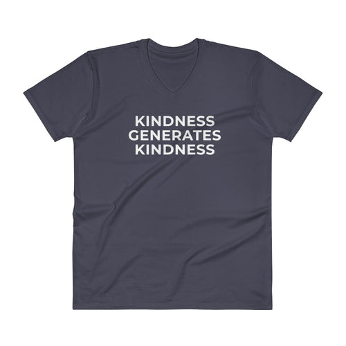 Kindness Generates Kindness by Inovare Designs Pemium Mens V-Neck T-Shirt