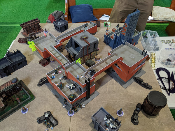 Infinity the game wargaming table