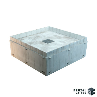 Rooftop module for skyscraper terrain