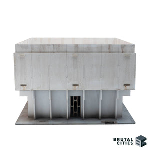 Painted objective room made from MDF scenery