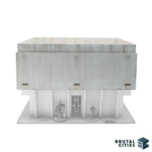 Model building 1st floor with rooftop