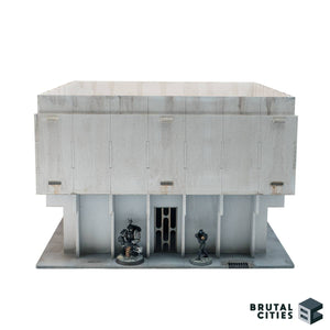 Bottom level bruteopoolis objective room