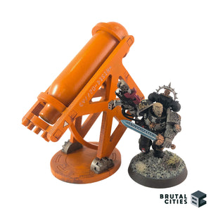 Warhammer 40k objective with space marine