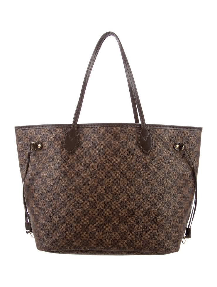 Louis Vuitton Damier Ebene MM New🦊 - Deluxe Bag Life DeluxeBagLife Designer Brand Bags