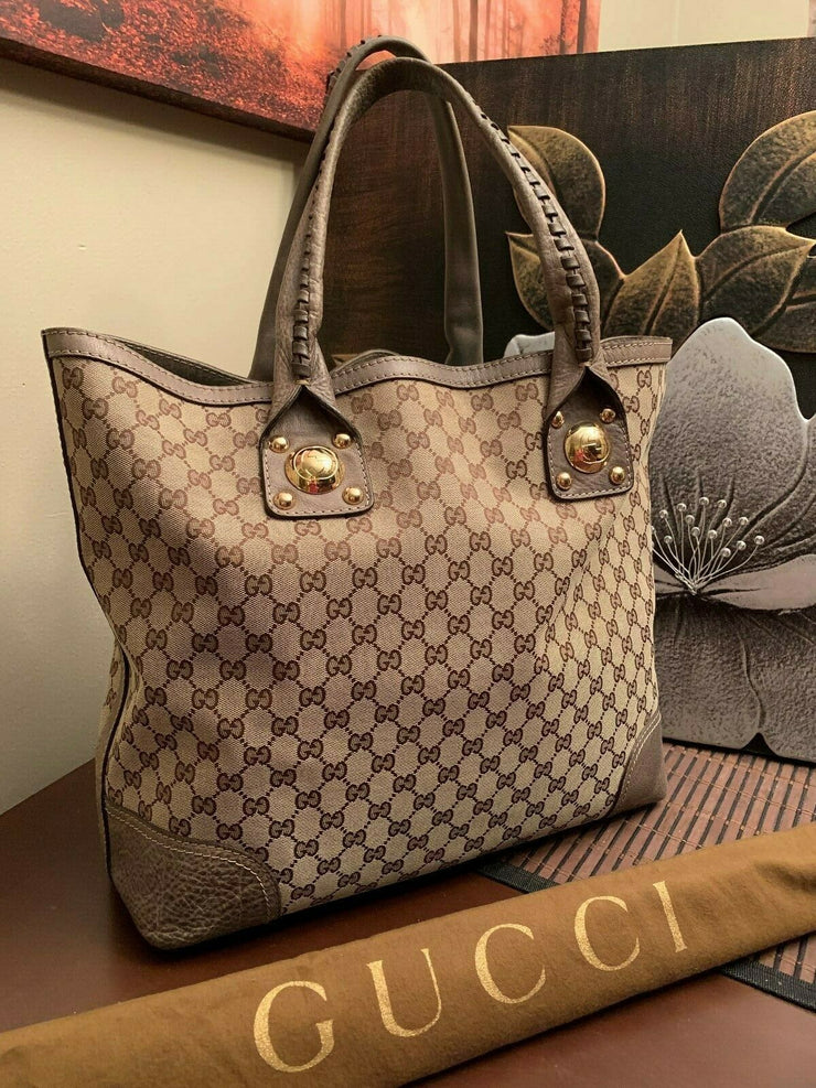 Gucci Tote Large - Deluxe Bag Life DeluxeBagLife Designer Brand Bags