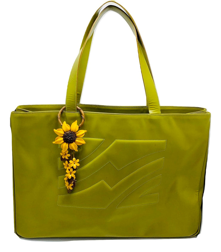 Ferragamo XL Leather Tote🌻