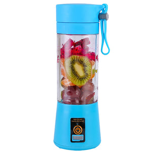 Blue powerful portable blender (2-3Day delivery, Easy Returns