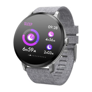Elegant strap Large screen and battery watch with APP on playstore at 80% off Season End Sale Good bass, 8 Hour battery