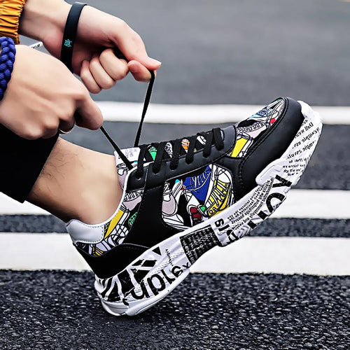 Graffiti Black - Sneakers Clearance sale Shoes