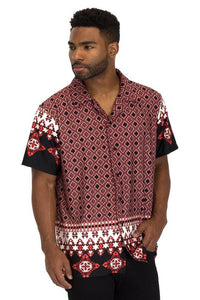 AfroThick print shirt - Street Wear- 24 Hour Clearance Sale hslop