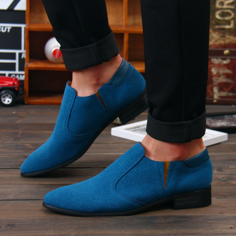 Blue Designer Shoes on Clearance Sale