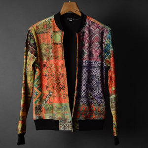 Full print Multi colour Jacket - Street Wear- 24 Hour Clearance Sale hslop