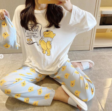 Pooh limited Edition nightsuit womans wear