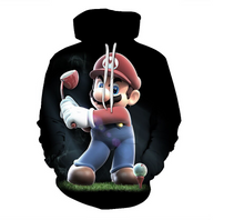 Load image into Gallery viewer, 3D Mario Hoodie 1.2 on clearance sale - jacket sale