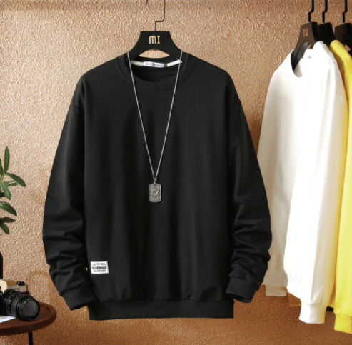 Basic Black sweatshirt on clearance sale - Jacket Limited offer