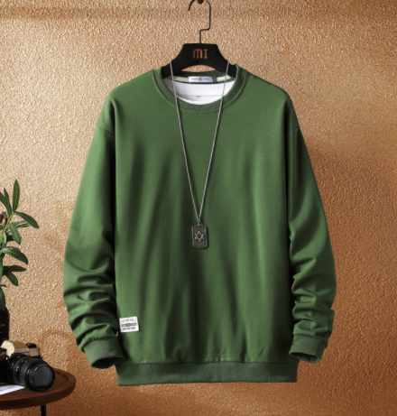 Green basic sweatshirt on clearance sale - Jacket Limited offer