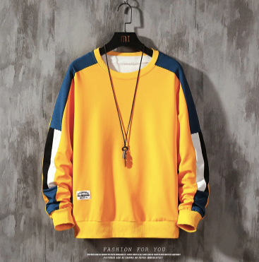 Yellow Sweatshirt on clearance sale - jacket sale