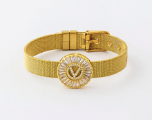 Load image into Gallery viewer, Ugly gold bracelet random head on sale - Hand accessory