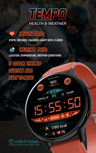 Load image into Gallery viewer, Sports strap Large screen and battery watch with APP on playstore at 80% off Season End Sale Good bass, 8 Hour battery