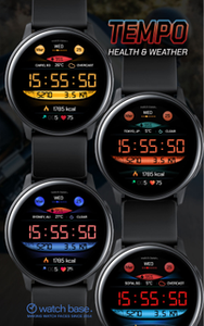 Sports strap Large screen and battery watch with APP on playstore at 80% off Season End Sale Good bass, 8 Hour battery