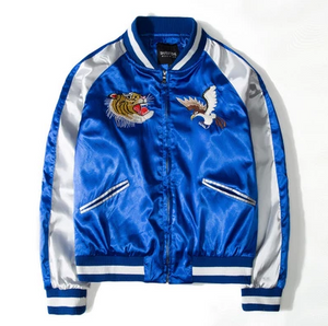 Blue Polly Jacket - Street Wear- 24 Hour Clearance Sale