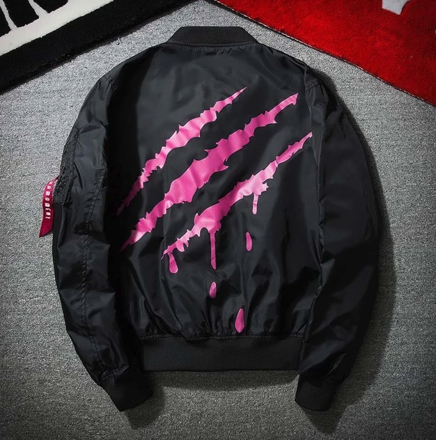 Black Pink X Poly Jacket - Street Wear- 24 Hour Clearance Sale