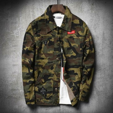 Camouflage Hoodie - Street Wear- 24 Hour Clearance Sale