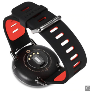 Black and Red 1.49 inch AMOLED Screen 500 x 454 Resolution 10 Sports Modes Ggp Quick Sale watch