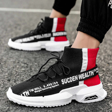 Load image into Gallery viewer, Black and red classic - Sneakers Clearance sale Shoes