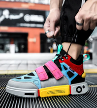 Load image into Gallery viewer, Multicolour casual - Sneakers Clearance sale Shoes