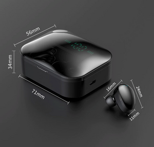 Bass 5.0 TWS Wireless Charging Siri Google Assistant Ggp- On Limited Time Sale - Last Few Left