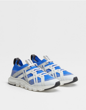 Load image into Gallery viewer, Blue and grey Extra cushion limited edition sneakers Hslop