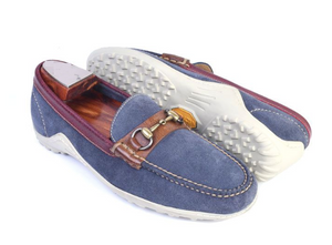 Casual denim loafers on clearance sale Hslop
