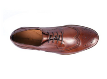 Load image into Gallery viewer, Tan formal oxfords on clearance sale Hslop