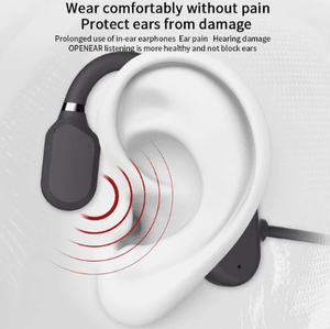 Bone Conduction Super Comfortable Earphonesat 80% off Season End Sale Good bass, 12 Hour battery.