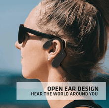 Load image into Gallery viewer, Bone Conduction Super Comfortable Earphonesat 80% off Season End Sale Good bass, 12 Hour battery.