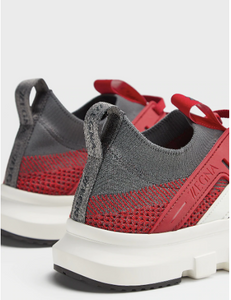 Red Sporty Smart Sneakers - Sneakers Clearance sale Shoes Hslop