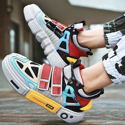 Multi color Sneakers Sporty - Sneakers Clearance sale Shoes Hslop